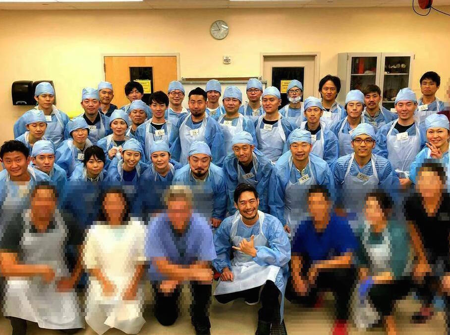 ハワイ大学解剖プログラムのメンバー