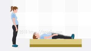 硬い体では寝た姿勢に耐えれない