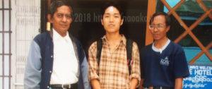 ミャンマーで手術後の写真